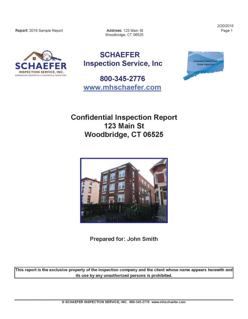 Commercial Inspection CT
