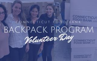 Connecticut Food Bank BackPack Program Volunteer Day