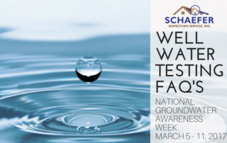 well water testing faq's
