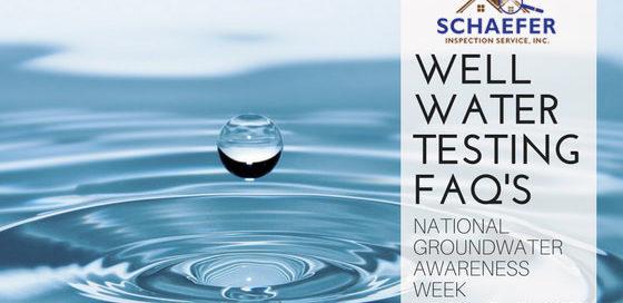 well water testing faq's