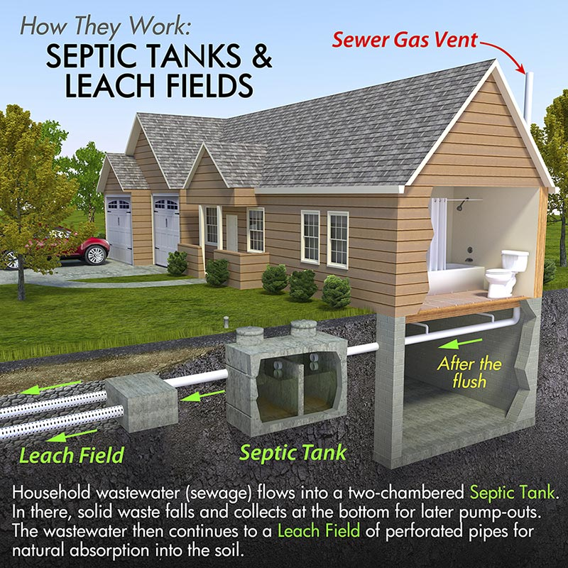 septic tank how it works